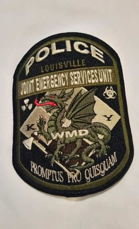 Louisville Kentucky Joint Emergency Services Unit Patch Police WMD Collector New