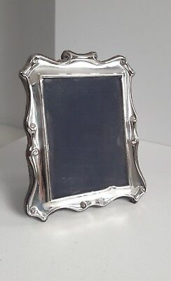 Sterling Silver Photo/Picture Frame Scroll Design R Carr Sheffield 1989