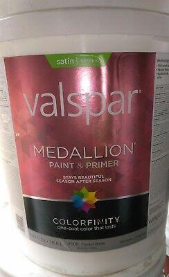 Valspar Medallion 100% Acrylic Paint & Primer Satin Exterior House - Valspar Medallion
