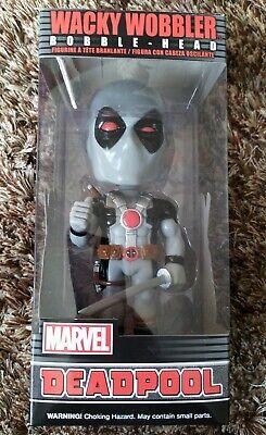 Funko Wacky Wobbler - X-Force Deadpool in Grey + Deadpool/Venom Dorbz - New