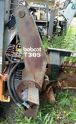 Bobcat T 305 Trencher Attachment Skidsteer Skid Steer High Flow Quick Attach