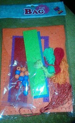 Sierra Pacific Kids Crafts – Easy Sew Felt Bag Craft Kit (Makes 1) - Easy Kids Crafts