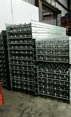 Conveyor Roller Skate Pallet Rack Racking Industrial Systems 10lx24 Used