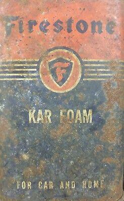 Firestone Kar Foam Vintage Tin Can