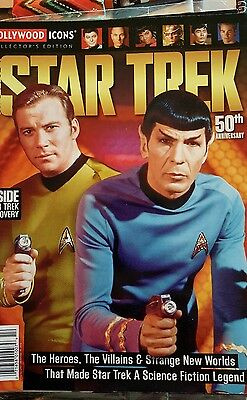 STAR TREK The Best Of HOLLYWOOD ICONS TV SERIES News 50th ANNIVERSARY SPECIAL
