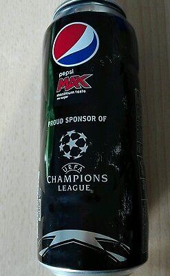 1 Dose Pepsi Cola Champions League Edition Belgien Can Coke Voll Full 500ml Coca