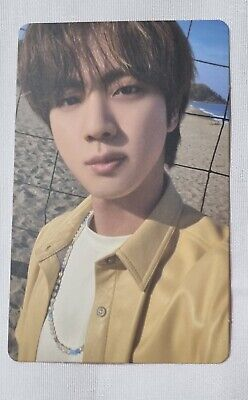 BTS BUTTER Official Peach Version Photo card JIN