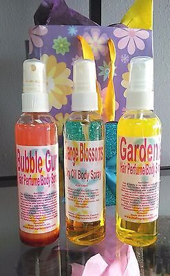 Spunky Green Apple Hair Perfume Body Spray Perfume Fragrance 4 oz One Bottle Green Apple Perfume
