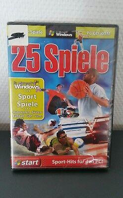 25 Spiele: Sportspiele (PC, 2006) PC CD-ROM Sport Hits für den PC NEU OVP  (Sport-spiele Für Pc)