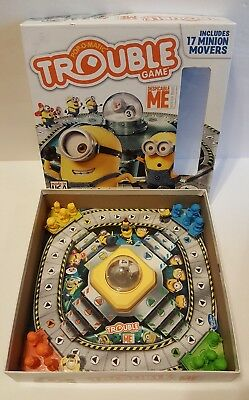 Minions Despicable Me Trouble Board Family Children Toy Educational Complete