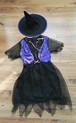 Hexe Kostüm für Kind 8-10 Jahre, NEU