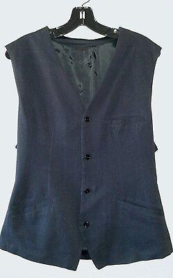Sharp Classy Blue D.A DANIELE ALESSANDRINI Vest Sz 54 (US44?) Made in Italy