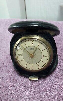 Vintage Smiths Empire Pocket watch in original travel leather case/././