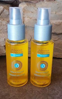 NEW 2 PC SET Avon 360 Nourish Moroccan Argan Oil Treatment Advanced