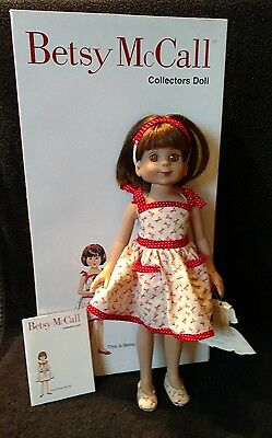 "Tonner Betsy McCall doll 13"" in box"