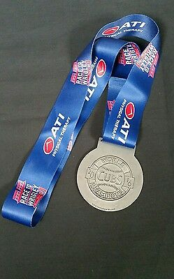 Chicago Cubs Race To Wrigley Medal 2016 Champions 5K Charity Run 2017 New