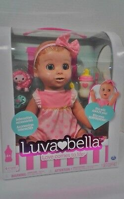 Luvabella   Blonde Hair   Responsive Baby Doll With Realistic Expressions And Mo