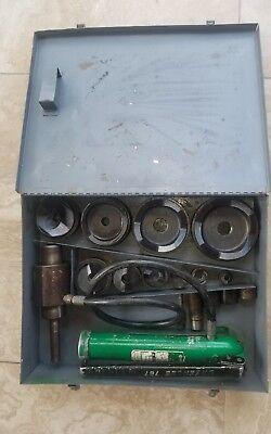 Greenlee - 4 Slug Splitter Hydraulic Knockout Set 767 - 746