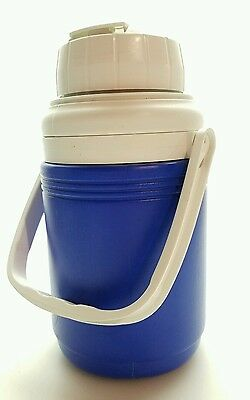 Coleman 1/3 Gallon Cold Beverage Cooler Thermos  with Flip Spout - BLUE - Coleman 3 Gallon Beverage Cooler