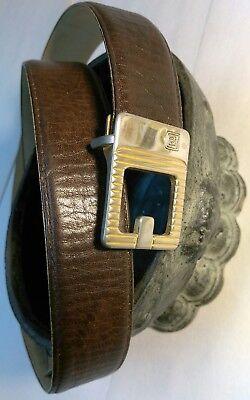 Pierre Cardin 70s early 80s leather belt cinturon fashion stylish OFFICE PREPPY