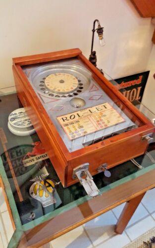 Antique Original ABT Manufacturing Co. ROL-LET Trade Stimulator circa 1933 WORKS