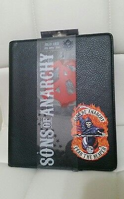 New Sons Of Anarchy Soa Black Ipad 2 3 4 Folio Case Stand Cover Licensed