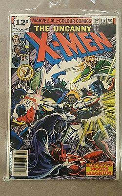 Uncanny X-men (1963 series) #119,  Grade 8.0