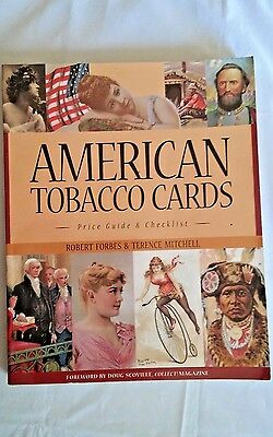 AMERICAN TOBACCO CARDS 1880s-1920s Price Guide Book Softcover Collector