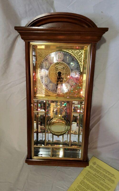 Ansonia Gold Medallion Wall Clock (1166 C) Quarterly Hour Chime
