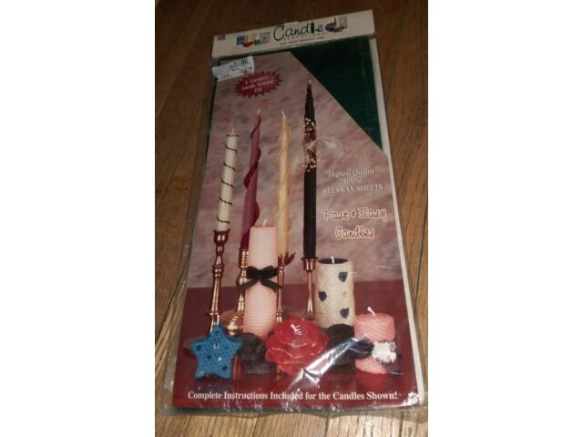 1995 Candle Making Kit Sensations 54935 Smooth 100