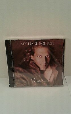 Timeless  The Classics By Michael Bolton  Cd  Sep 1992  Columbia  Usa   New