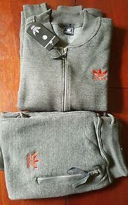 Adidas Men's Full Tracksuit, With Bottoms Black,Grey