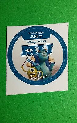 MONSTERS UNIVERSITY MU WAVING BANNER CARTOON GETGLUE GET GLUE SMALL 1.5