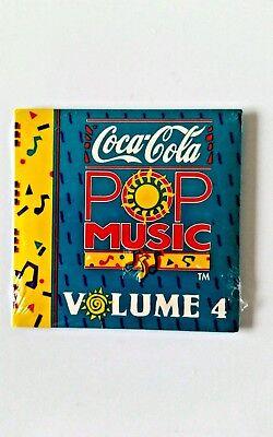 "Coca Cola Pop Music 3"" Promo CD Volume 4, Dead Stock Sealed Coke VINTAGE 1991"