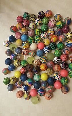 25 Assorted Rubber Bouncing Balls   Bouncy Balls  New