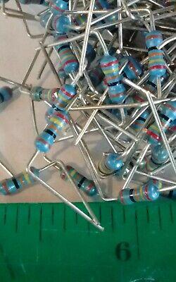 240 Ohm 14 Watt 1 Metal Film Resistor Lot Of 1000 Pieces Pre Cut Leads