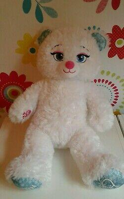 """Build A Bear Disney Frozen Elsa Teddy Bear 16"""" Soft Toy"""