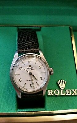 ROLEX OYSTER ROYAL 50's Vintage Mens Watch Rare Collectible Excellent Condition