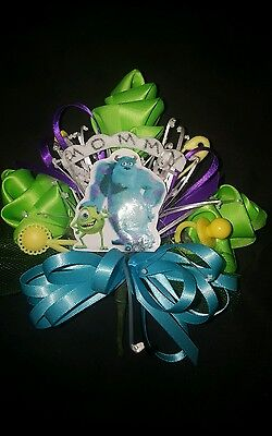 Baby shower MOMMY or GRANDMA corsage Monsters   Inc theme (Monster Baby Shower)