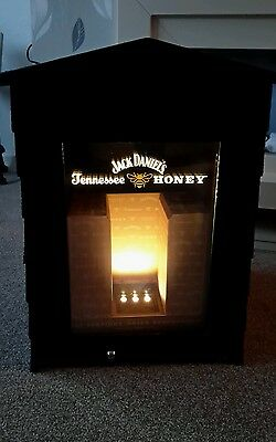 Jack Daniels Tennessee Honey Beehive Bar Top Fridge New /  Boxed Reduced to Clea