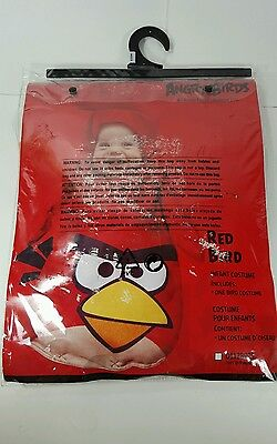 Angry Birds Red Bird Halloween Infant Costume (0-9 months)