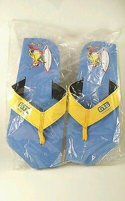 NEW - flip flop sandals GTE phone company unisex size 9.5 Rare Vintage New