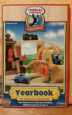NEW Thomas the Tank Engine YEARBOOK 2008 / Volume XIV /Wooden Railway Collection