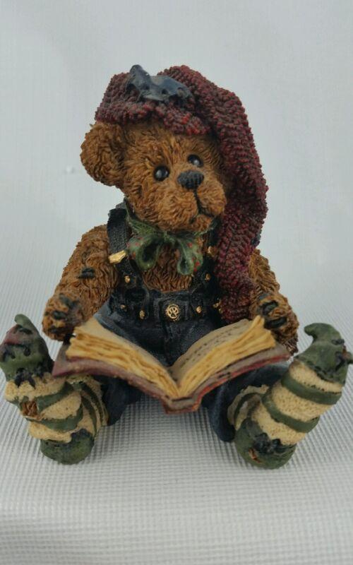 Boyds Bears Edmund Elf Christmas Carol NIB #228311 Bearstone Figurine Vintage