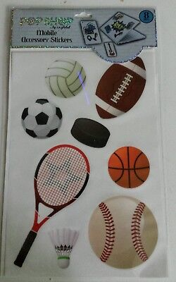 Phone Theme Shop (POP SHOP Stickers for Computer Phone Tablets Sports Theme, Soccer Baseball )