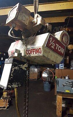 Coffing Electric Chain Hoist 12 Ton 15 Lift Ec-1016-3