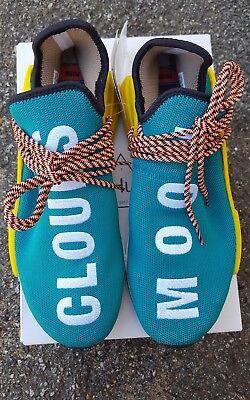 c4531e29e57f8 Adidas x Pharrell Williams Human Race Trail NMD US 10 Teal   Sun Glow AC7188