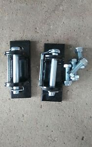 Tow Bar Bumper TIRON Mounting Brackets with Bolts & Safety Pins 5000 lbs. Reese