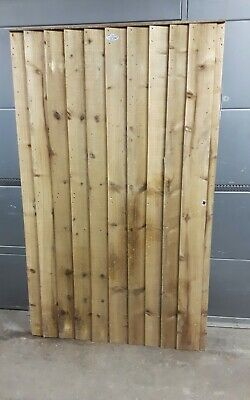 Heavy Duty Wooden Garden Gate Feather Edge Fully Framed h - 1700 mm w - 1045 mm