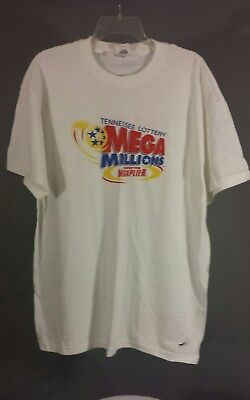 Tennessee Lottery Mega Millions Megaplier Play   Size Xl   Mega Fun T Shirt Tee